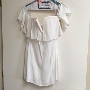Lovers + Friends Primrose Dress - WHITE -XS